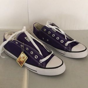 Converse Chuck Taylor All Star lo purple S 7 shoes